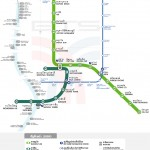 Map of Skytrain