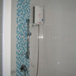 Bathroom 150x150 Fully Furnished One Bedroom condo for rent at 9,000 baht per month only