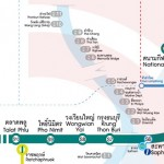 BTS Skytrian Route map