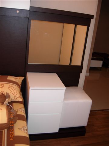Dressing table in Master Bed